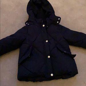 Zara puffer coat size 7